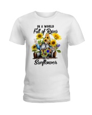 IN A WORLD FULL OF ROSES Ladies T-Shirt thumbnail