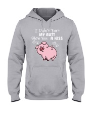 I DID NOT FART MY BUTT BLEW YOU A KISS Hooded Sweatshirt thumbnail
