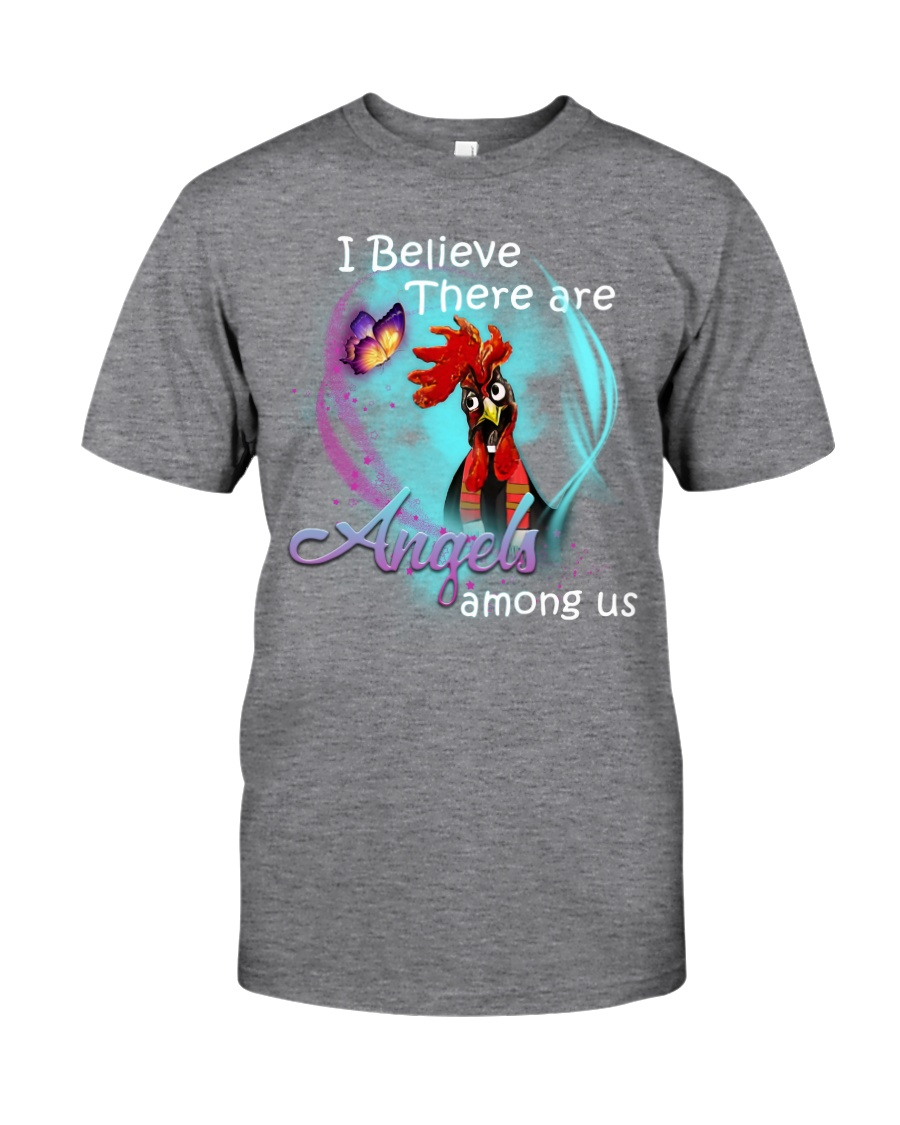 I BELIEVE THERE ARE ANGLES AMONG US Classic T-Shirt