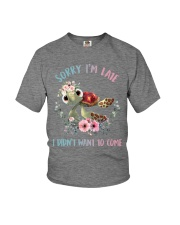 SORRY IM LATE Youth T-Shirt thumbnail