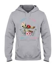 SORRY IM LATE Hooded Sweatshirt thumbnail