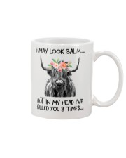 I MAY LOOK CALM Mug thumbnail