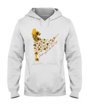 JUST A GIRL WHO LOVE DOGS Hooded Sweatshirt thumbnail