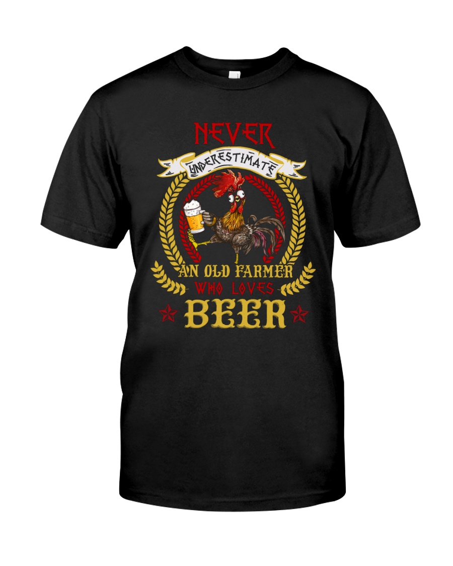 WHO LOVES BEER Classic T-Shirt