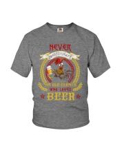 WHO LOVES BEER Youth T-Shirt thumbnail