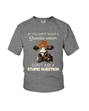 DONT ASK A STUPID QUESTION Youth T-Shirt thumbnail