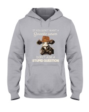 DONT ASK A STUPID QUESTION Hooded Sweatshirt thumbnail