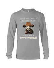 DONT ASK A STUPID QUESTION Long Sleeve Tee thumbnail