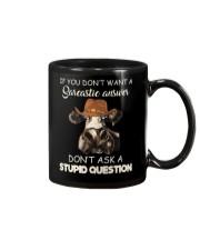 DONT ASK A STUPID QUESTION Mug thumbnail