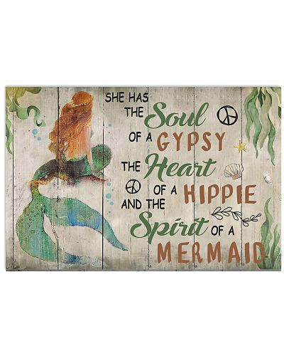 Gypsy Hippie Mermaid Shirt