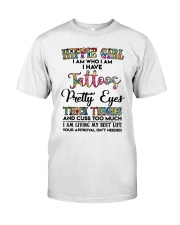 HIPPIE GIRL I AM WHO I AM Classic T-Shirt front