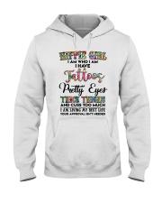 HIPPIE GIRL I AM WHO I AM Hooded Sweatshirt thumbnail
