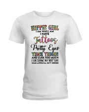 HIPPIE GIRL I AM WHO I AM Ladies T-Shirt thumbnail