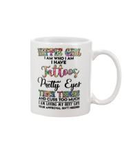 HIPPIE GIRL I AM WHO I AM Mug thumbnail