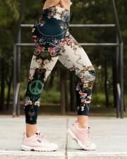 Rose Peace Legging High Waist Leggings aos-high-waist-leggings-lifestyle-16
