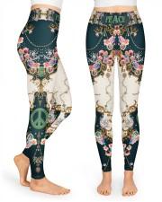Rose Peace Legging High Waist Leggings front