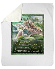 Mermaid Quilt Sherpa Fleece Blanket tile