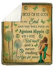 "Hippie Quilt Sherpa Fleece Blanket - 50"" x 60"" thumbnail"
