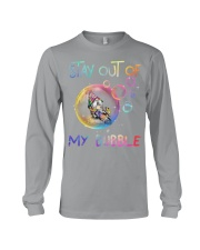 STAY OUT OF MY BUBBLE Long Sleeve Tee thumbnail