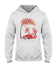 Valentine's Day is coming Hooded Sweatshirt thumbnail
