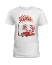 Valentine's Day is coming Ladies T-Shirt thumbnail