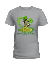A WEE BIT JRISH TODAY Ladies T-Shirt thumbnail