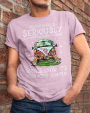 PEOPLE SHOULD SERIOUSLY Classic T-Shirt apparel-classic-tshirt-lifestyle-26