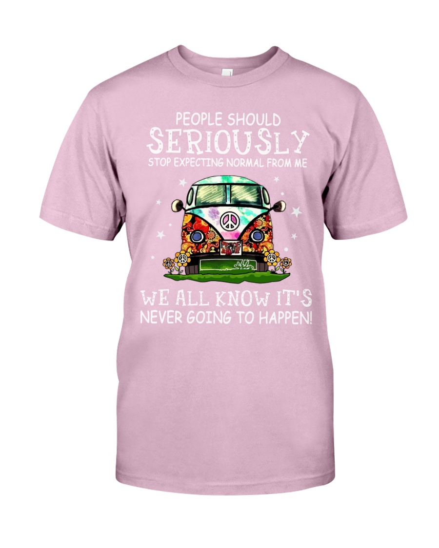PEOPLE SHOULD SERIOUSLY Classic T-Shirt