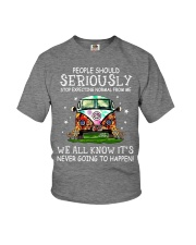 PEOPLE SHOULD SERIOUSLY Youth T-Shirt thumbnail