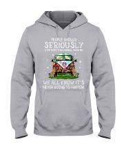 PEOPLE SHOULD SERIOUSLY Hooded Sweatshirt thumbnail
