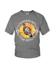HUMANKIND BE BOTH Youth T-Shirt tile