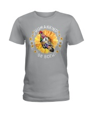 HUMANKIND BE BOTH Ladies T-Shirt tile
