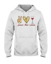 PEACE LOVE WINES Hooded Sweatshirt thumbnail