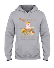 PIGS MAKE ME HAPPY Hooded Sweatshirt thumbnail
