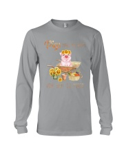 PIGS MAKE ME HAPPY Long Sleeve Tee thumbnail