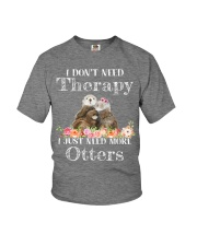 I JUST NEED MORE OTTERS Youth T-Shirt thumbnail