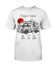 HIPPIE TIME Classic T-Shirt front
