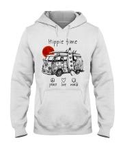 HIPPIE TIME Hooded Sweatshirt thumbnail