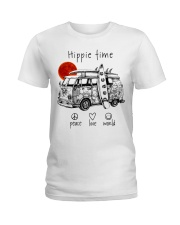 HIPPIE TIME Ladies T-Shirt thumbnail