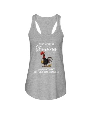 YOUR CRAZY IS SHOWING Ladies Flowy Tank thumbnail