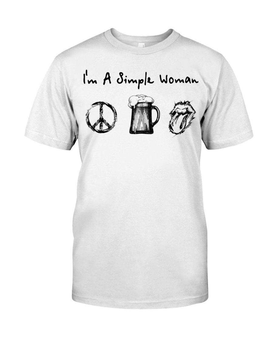 IM A SIMPLE WOMAN Classic T-Shirt