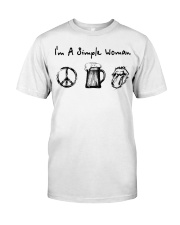 IM A SIMPLE WOMAN Classic T-Shirt front