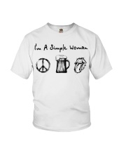 IM A SIMPLE WOMAN Youth T-Shirt thumbnail