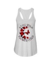 STAY WILD FLOWER CHILD Ladies Flowy Tank thumbnail