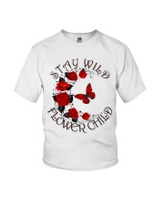 STAY WILD FLOWER CHILD Youth T-Shirt thumbnail