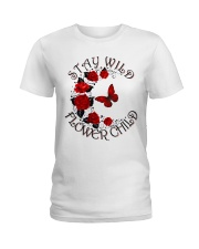 STAY WILD FLOWER CHILD Ladies T-Shirt thumbnail