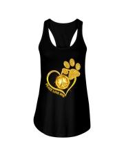 PEACE LOVE DOG Ladies Flowy Tank thumbnail