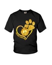 PEACE LOVE DOG Youth T-Shirt thumbnail