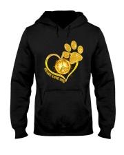 PEACE LOVE DOG Hooded Sweatshirt thumbnail