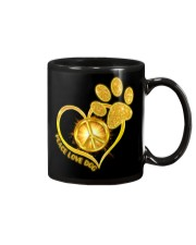 PEACE LOVE DOG Mug thumbnail